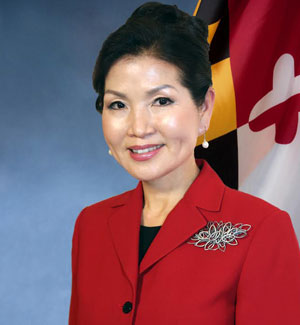 First Lady of Maryland - Yumi Hogan