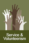 Service and Volunteerism
